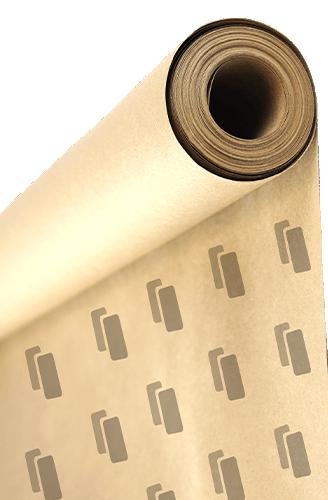 szary papier do pakowania